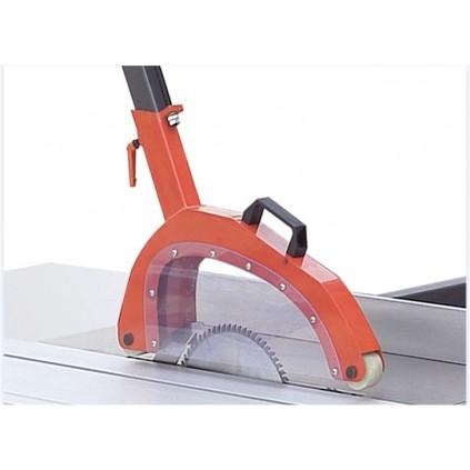 Sagbladbeskyttelse med avsugstuss til juster og kløvsag - Type S