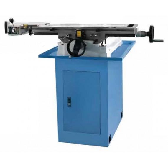 Opsjon maskinstativ med oppbevaringsrom samt sideveis mateenhet til koordinatbord