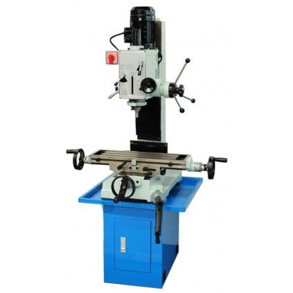 Maskin vises med opsjon maskinstativ med oppbevaringsrom samt sideveis mateenhet til koordinatbord.