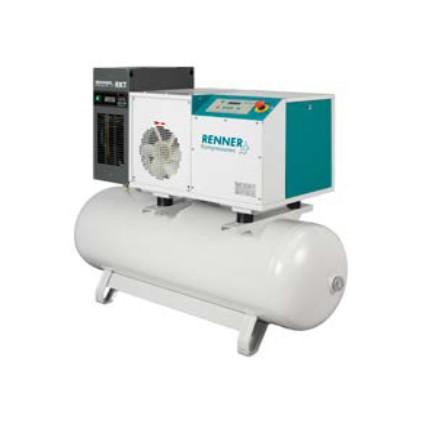 Renner RS-B 4.0-11.0 Kompressor med tank og kjøletørke