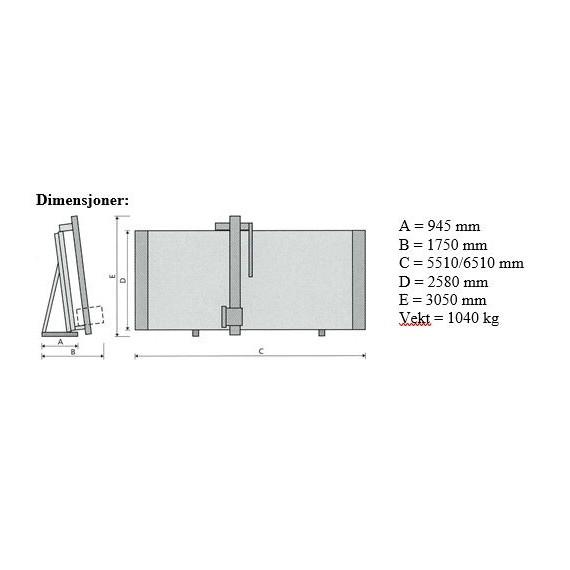 Elcon Advance-Automatic Vertikal platesag
