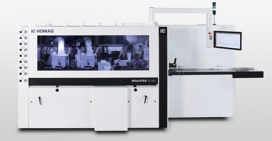 MOULDTEQ M300 med powerTouch - også egnet for vinduspropduksjon!